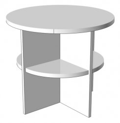 Tambor magazine table - Poland - Hoffer - Journal tables - Tables Desks