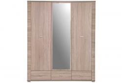 GRESS шкаф с зеркалом 3d3s - Польша - Mebelbos - Шкафы трехдверные - Шкафы и Комоды, Шифоньеры