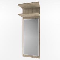 OSKAR панель с зеркалом 45 - Польша - Mebelbos - Зеркала в прихожую - Прихожие и Гардеробы