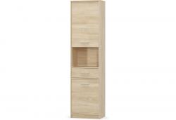 TIPS Книжный шкаф 2d1s - Польша - Mebelbos - Шкафы однодверные - Шкафы и Комоды, Шифоньеры