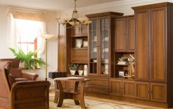 Wiki C classical style wall unit - Poland - Black Red White ( BRW ) - Classic wall units - WALL, UNITS, Showcases