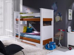 MEBLObed - Casimir classic style bunk bed with 2 boxes - Poland