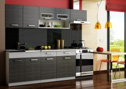 MORENO GRAFIT BIS модульная кухня - Модульные кухни, индивидуальные - Кухни модульные