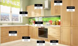 GOLD LUX II классическая модульная угловая кухня