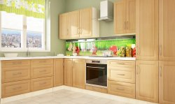 GOLD LUX II classic style modular kitchen - Poland - Extom - Modular kitchens, individual - Modular kitchens
