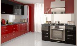 PLATINIUM 1 modern style modular kitchen - Poland - Extom - Modular kitchens, individual - Modular kitchens