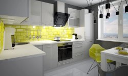PLATINIUM 2 модульная кухня модерн - Польша - Extom - Модульные кухни, индивидуальные - Кухни модульные