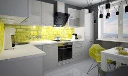 PLATINIUM 2 modern style modular kitchen - Poland - Extom - Modular kitchens, individual - Modular kitchens