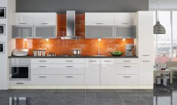 PLATINIUM 6 modern style modular kitchen - Poland - Extom - Modular kitchens, individual - Modular kitchens