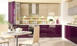 PLATINIUM 8 modern style modular kitchen - Poland - Extom - Modular kitchens, individual - Modular kitchens