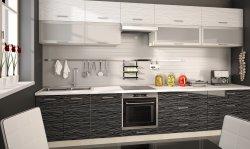 PLATINIUM 9 modern style modular kitchen - Poland - Extom - Modular kitchens, individual - Modular kitchens
