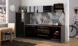 PLATINIUM 13 modern style modular kitchen - Poland - Extom - Modular kitchens, individual - Modular kitchens