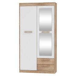 Maximus Mxs-04 гардероб 2D2S шкаф для одежды в коридор - Польша - MEBLOCROSS - Шкафы для прихожей и гардеробы - Прихожие и Гардеробы