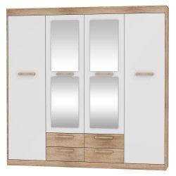 Maximus Mxs-05 гардероб 3D2S шкаф для одежды в коридор - Польша - MEBLOCROSS - Шкафы для прихожей и гардеробы - Прихожие и Гардеробы