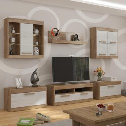 MAXIMUS 2 furniture set - Poland - MEBLOCROSS - Modern wall units - WALL, UNITS, Showcases