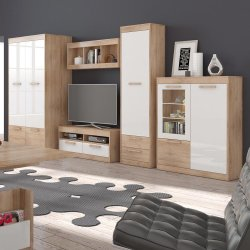 MAXIMUS 4 furniture set - Poland - MEBLOCROSS - Modern wall units - WALL, UNITS, Showcases