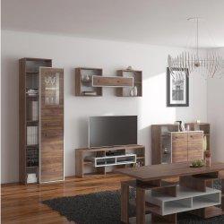 RIO 5 секция - Секции для гостинной Модерн - Секции, Витрины, Полки