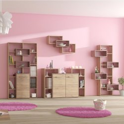 RIO 9 wall unit - Poland - MEBLOCROSS - Jouth room sets - Childrens room