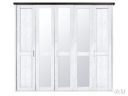 LUCA 5 дверный шкаф SZF5D - Польша - Black Red White ( BRW ) - Шкафы пятидверные - Шкафы и Комоды, Шифоньеры