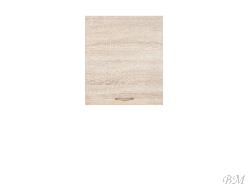 Верхний шкафчик JUNONA LINE-G1D/50/57_LP - Польша - Black Red White ( BRW ) - Верхние шкафчики - Кухни модульные
