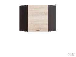 Верхний шкафчик JUNONA LINE-GNWU/57_LP - Польша - Black Red White ( BRW ) - Верхние шкафчики - Кухни модульные