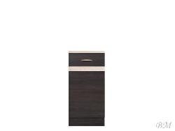Нижний шкафчик JUNONA LINE - D1D/40/82 - Польша - Black Red White ( BRW ) - Нижние шкафчики - Кухни модульные