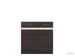 Нижний шкафчик JUNONA LINE - DK2D/80/82 - Польша - Black Red White ( BRW ) - Нижние шкафчики - Кухни модульные