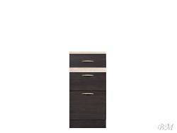 Нижний шкафчик JUNONA LINE - D3S/40/82 - Польша - Black Red White ( BRW ) - Нижние шкафчики - Кухни модульные