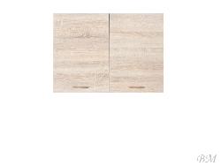 Верхний шкафчик JUNONA LINE-G2D/80/57 - Польша - Black Red White ( BRW ) - Верхние шкафчики - Кухни модульные