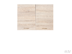 Верхний шкафчик JUNONA LINE-G2D/80/57 - Верхние шкафчики - Кухни модульные