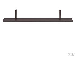 Полка JUNONA LINE - POL/100 - Польша - Black Red White ( BRW ) - Элементы дополнительные - Кухни модульные