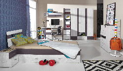 Детская комната беленый дуб Комплекты детской NEXT C система