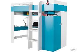 MOBI кровать, шкаф, стол MO 20 - Польша - Meblar - Кровать-шкаф детская - Детская комната