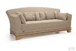Timeless Wood Collection three places sofa - Poland - Unimebel - Sofas 3 seater - Upholstered furniture