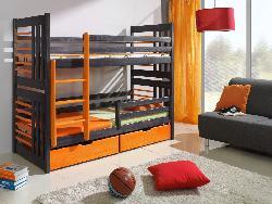 Кровати двухъярусные Детская комната на двоих Детская деревянная кровать Roland