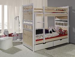 Детская деревянная кровать SALOMON - Кровати двухъярусные - Детская комната