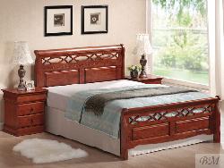 Genewa gulta - Gultas no koka - Guļamistaba