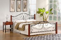 VIOLETTA gulta - Gultas no koka - Guļamistaba
