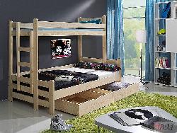 Детская деревянная кровать Beniamin II - Польша - MEBLObed - Кровати двухъярусные - Детская комната