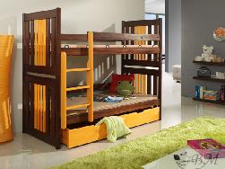 Детская деревянная кровать Kornel - Кровати двухъярусные - Детская комната