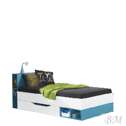 Gultiņas vienam bērnam MOBI gulta MO 18 18 200 gultas