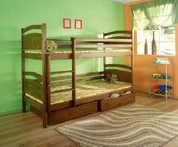 Детская деревянная кровать Dawid - Кровати двухъярусные - Детская комната