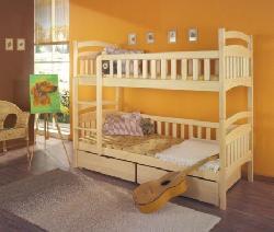 Детская деревянная кровать Dominik - Кровати двухъярусные - Детская комната