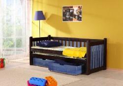 Детская деревянная кровать Filip выдвижная Кровати двухъярусные Детская комната на двоих