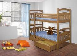 Детская деревянная кровать Jakub - Кровати двухъярусные - Детская комната