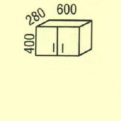 G-1(2) - Польша - PL - Типовые верхние шкафчики - Кухни модульные