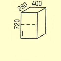 G-10 - Польша - PL - Типовые верхние шкафчики - Кухни модульные