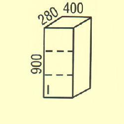 G-11 - Польша - PL - Типовые верхние шкафчики - Кухни модульные