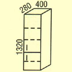 G-12 - Польша - PL - Типовые верхние шкафчики - Кухни модульные