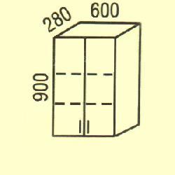 G-19 - Польша - PL - Типовые верхние шкафчики - Кухни модульные